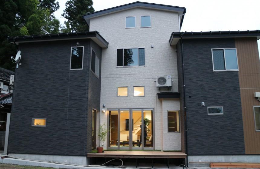 大人の遊び心満載の家